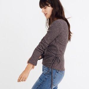 Madewell Wrap Sweater
